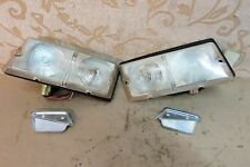 NOS PAIR MITSUBISHI SIGNAL LAMP ASSEMBLY DELICA COLT T120 # MB046343 MB046344