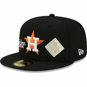 Houston Astros New Era 2017 World Series Champions 59FIFTY Fitted 7 7/8 - Black