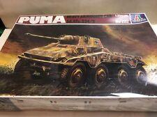 ITALERI 1/35 202 Puma sd.kfz.234/2 Heavy AUTOBLINDA VINTAGE MODEL KIT SIGILLATO