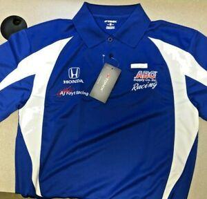 AJ Foyt Racing Garage Sale- AJ Foyt ABC Supply Team Wear Polo - 3XL - IndyCar