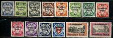 DANZIG Stamps 1939 DANZIG set of 14,#241-254