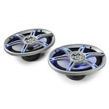 NEW 1000W 6x9 INCH AUDIO CAR SPEAKERS BLUE LED LIGHTING FX *UK P&P SPECIAL OFFER