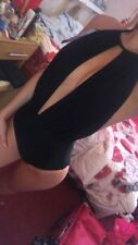 Black Party Open Cleavage Swimsuit BNWT size 8