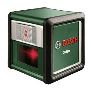 New Bosch Quigo III Cross Line Laser Level