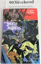 DC COMICS BATMAN THE DEATH AND MAIDENS TPB TRADE GRAPHIC GN SIGNED KLAUS JANSON
