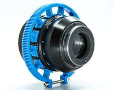 Cinematics Follow Focusgear ring Belt 80-90mm Adjustable for DSLR lens blue