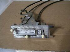 58 1958 Ford heater control & cables Skyliner Fairlane  57 59 ?? Nice rat rod