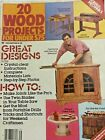 Vintage 1983 20 wood Projects Great Designs Joints Material Lists Instructions