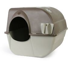 New listing Omega Paw Roll 'N Clean Self Cleaning Cat Litter Box, Large