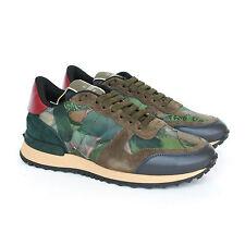VALENTINO GARAVANI butterfly camo rockstud sneakers rockrunner shoes 35 NEW