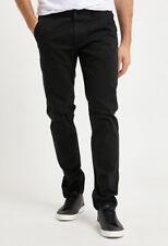 Gang Boris Slim Hombres Pantalones tipo chino de invierno/Negro/Vintage
