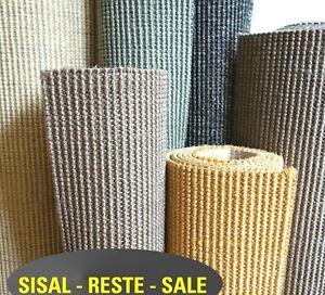 Teppichrest SISAL Rest z.B. für Kratzbaum oder Katzenmöbel Naturfaser
