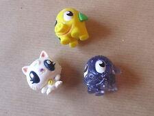 Three Moshi Monster Figures