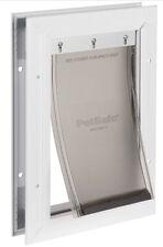 PetSafe SMALL Freedom Aluminum Pet Dog Door-Dogs to 1-15 lbs PPA00-10859