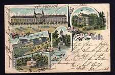 106227 AK Celle 1899 Litho Infanterie Kaserne Casino Vater Philipp Burg Kaserne