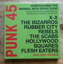 PUNK 45: Approaching the Minimal... 7inch box set new  RSD18 Record Store Day