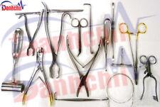 Veterinary Orthopedic (20Pcs) Set Surgical Veterinary orthopedic Instruments,