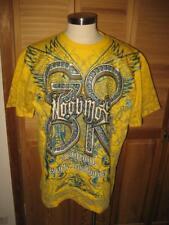 Noobmos Style Yellow Glitter Hip Hop T Shirt 2XL NWT