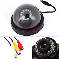 CMOS 380TVL 12 LED Dome Color Surveillance Security IR Night Vision Camera CCTV