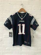New England Patriots Nike NFL Kid's Jersey - 10-12 Years - Edelman 11 Navy - New