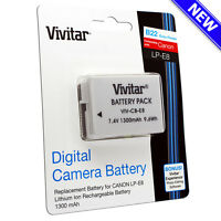 LP-E8 Battery Pack / Charger for Canon Rebel T2i T3i T4i T5i Kiss X5 EOS 550D VI