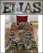 "Marvel Comic 9"" Childrens Wooden Letters Decor Can do any Theme"