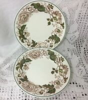 """Pair Of Wedgwood Of Etruria And Barlaston Surrey Design Side Plates 5.75"""""""