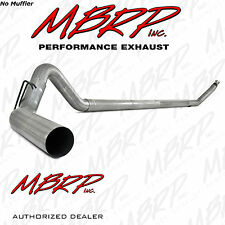 "MBRP S6100PLM 4"" TURBO BACK EXHAUST 94-02 DODGE 2500 3500 5.9L DIESEL NO MUFFLER"