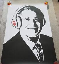 PRESIDENT GEORGE W BUSH - BEATS BY DRE feat. George Bush 24x36 Promo Poster RARE
