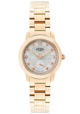 Gold Plated Band Analogue Luxury Round Wristwatches
