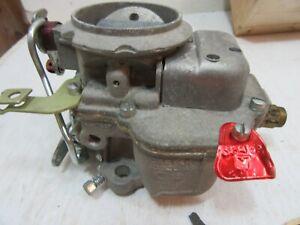 NOS 3349S  Carter 1 BBL Carburetor 1952-1962 Ford Edsel Mercury  Dated C-7