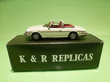METAL BUILT KIT KR4 K&R REPLICAS TRIUMPH MK2 STAG  1:43 - RARE SELTEN - IN BOX