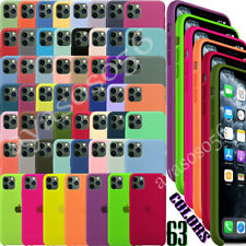 Original Silicone Luxury Case For Apple iPhone 11 / 11 Pro/ 11 Pro Max OEM Cover