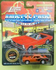 #1 ORANGE HEMI SHAKER 426 71 PLYMOUTH CUDA 1995 1971 MOPAR JOHNNY LIGHTNING JL