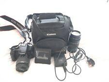 Canon EOS 600D 18.0MP - Black (Kit w/ EF EF-S 18-55mm Lens)
