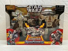 NEW Star Wars Transformers Millennium Falcon SEALED Han Solo Chewbacca Mini Figs