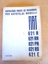 CATALOGO PARTI DI RICAMBIO ORIGINALE 1939 FIAT 621 N RN ETC... 682 LANCIA