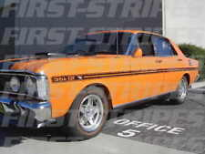 "FORD XY GT HO FALCON STRIPES "" FREE Glovebox Decal & Super Roo Stickers """