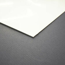 White PVC Plastic Sheets / Skins / Board 1.3mm Thick 2175mm x 975mm