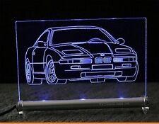 BMW 850  8er E31als  AutoGravur auf LED-Schild   850i 8