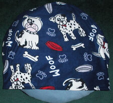 SMALL DOG BED SLEEPING BAG, SILLY PUNK PUPS-BLUE, COMFY COZY