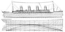 Bauplan RMS Titanic Modellbau Modellbauplan