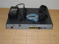 CISCO 887-K9 CISCO887 ADSL2/2+ Annex A Router with 4 port 10/100 Switch