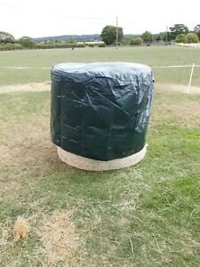 Round bale cover - Round Hay / Straw bale covers Hay Bale cover Black not Green