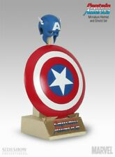 SIDESHOW Marvel Archive Set CAPTAIN AMERICA 1:4 Scale REPLICA SHIELD AVENGERS