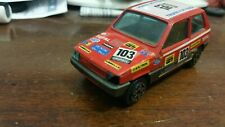 BURAGO 1/43 FIAT PANDA 45 RALLY VERY GOOD VINTAGE