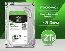 Seagate BarraCuda ST2000DM008 2TB SATA 6.0Gb Hard Drive HDD W/ Windows 10 PRO