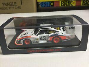 1/43 Spark Models Porsche 935 Moby Dick Le Mans 1978