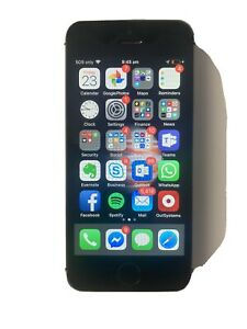 Apple iPhone SE - 64GB - Space Grey (Unlocked) A1723 (CDMA + GSM) (AU Stock)