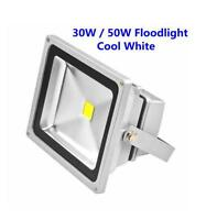 30W / 50W LED Floodlight Cool White Garden Security Signboard Outdoor Waterproof